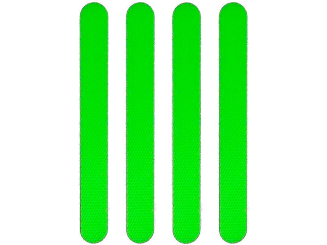 Moto Reflektierende Aufkleber grün